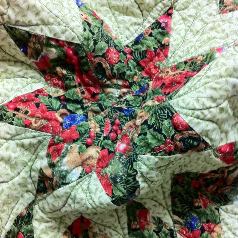 Quilt Pattern Star of Bethlehem Modern Patchwork Christmas PDF image 0