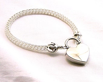 The Roses: Locking Trichinopoly Slave Collar Sterling Silver (Made to Order)