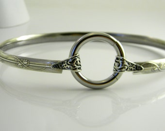 Made To Order Subtlety Sterling Silver Locking Symbolic Slave Jewelry