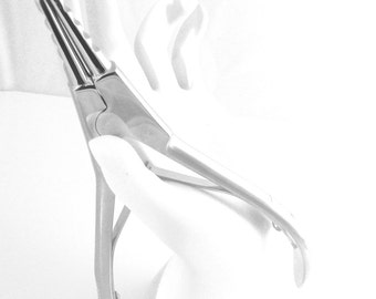 """Med 6""""  Ring Opening Pliers for opening and closing captive bead and captive segment rings"""