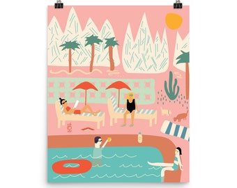 Palm Springs California Poster (16x20)