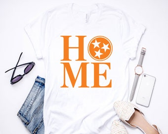 Tennessee Home | T-Shirt | Tee Shirt | Tennessee | East Tennessee | Knoxville | TN Vols | TN Home | Rocky Top