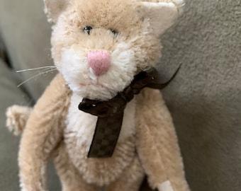 "Wuzzie/"" Sweater /& Hat Original Tag Boyds Bears Wuzzies Kitty Cat /""Thomasina F"