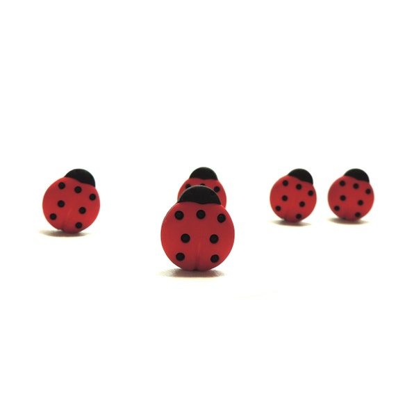 Jesse James Buttons ~ Dress It Up ~ LADYBUG LOVE ~ Bugs ~ Sew~ Crafts