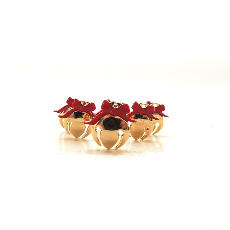 Jingle Bell Buttons by Dress It Up // Christmas Holiday image 0