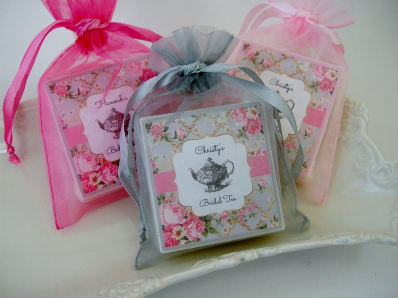 Tea Party Bridal Shower Favors Baby Shower Favors Set Of Etsy