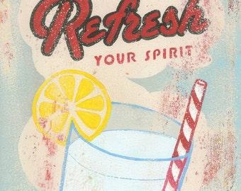 Refresh Your Spirit - fine art print 8x10