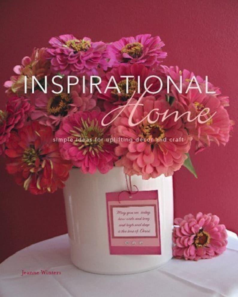 SALE  Inspirational Home  signed copy image 0