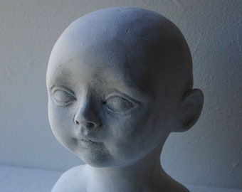 Turning a face-mask into a complete head for doll makers Tutorial PDF