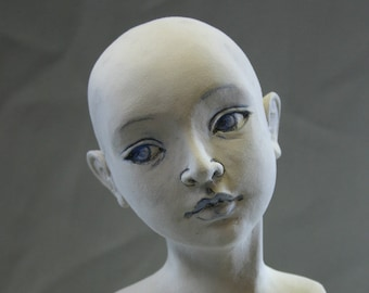 Sculpting a head in Air Dry Clay for Doll-makers Tutorial PDF