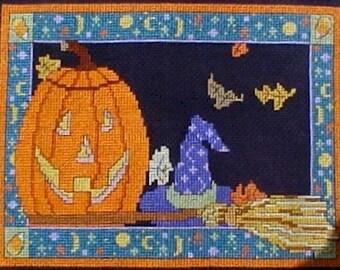 All Hallow's Eve Cross Stitch Pattern - Digital Download