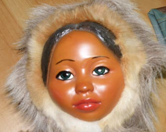 18 Inch First Nation Doll.