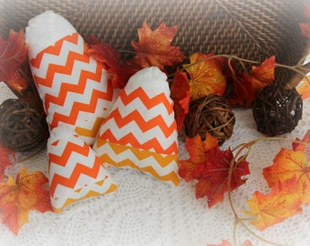 Candy Corn - SALE - Decorative Basket Filler Pillow