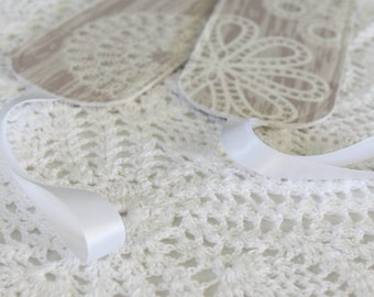 Birchwood and Lace - Set of 2 - Luggage Tags