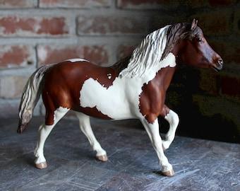 Elliott - Breyer custom traditional Haflinger to paint/pinto grade pony gelding CM altered art horse