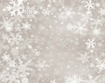GladsBuy Crystal Snowflakes 6 x 9 Digital Printed Photography Backdrop Snow Theme Background YHB-059