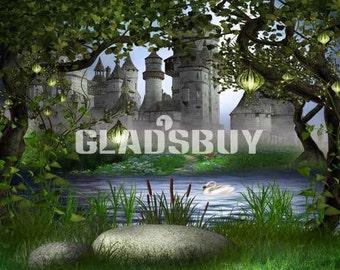 GladsBuy Wonderful Butterfly 6 x 9 Digital Printed Photography Backdrop Magic Theme Background YHA-004