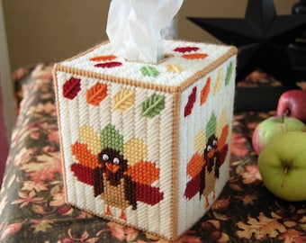 PATTERN: Turkey Tissue Box Cover
