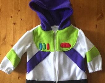 Buzz Lightyear Hooded fleece Jacket