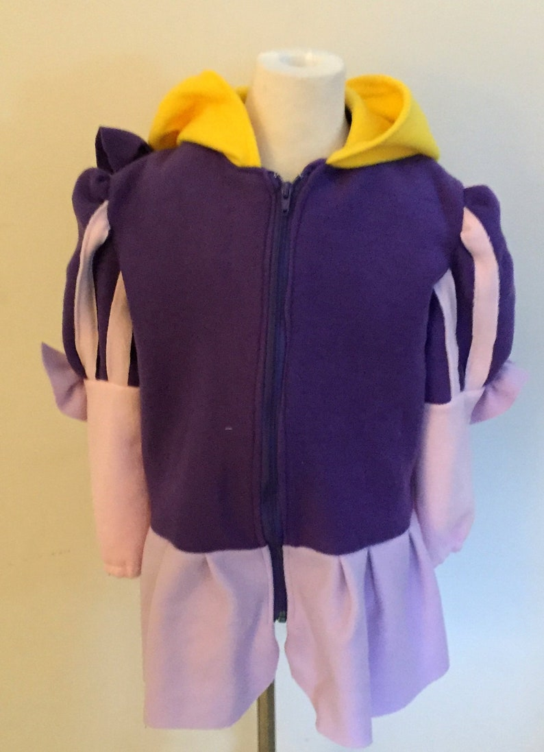 Rapunzel Hooded Fleece Jacket image 0