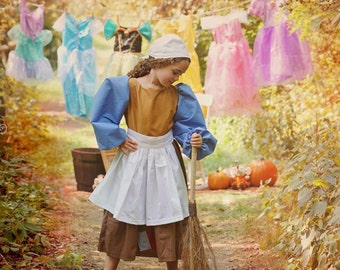 Cinderella's Peasant Dress Cinderella in Rags Dress