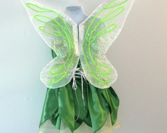 Tinkerbell Dress Pixie Costume