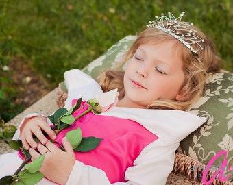 Sleeping Beauty Aurora Dress Costume Pink