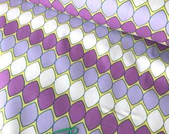 Mod Pop Lavender - Dreamin' Vintage - Jeni Baker - Art Gallery Fabric - 100% Quilters Cotton - Yards, Half Yards and Fat Quarters DV-60025