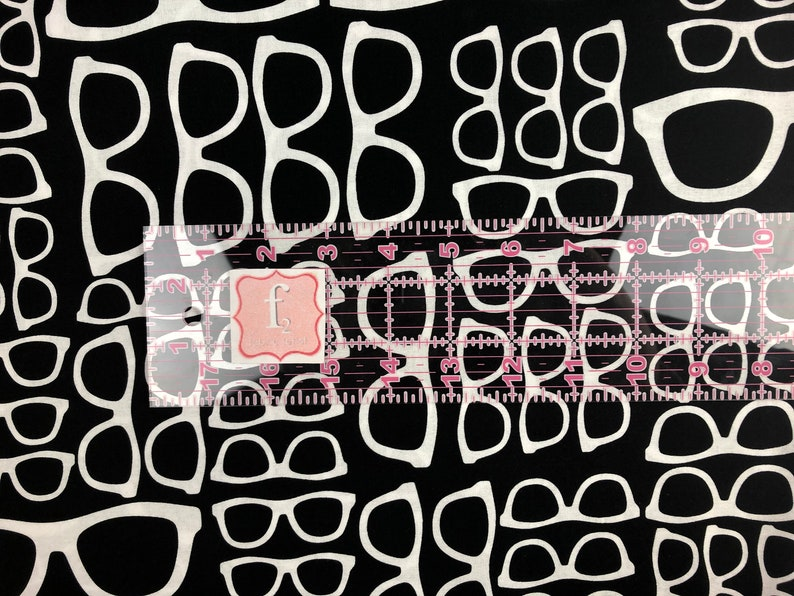 Steel Geekery Sue Marsh Spectacles Quilters Cotton Cotton