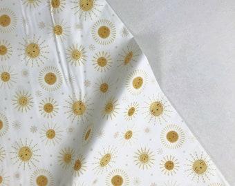 Happy Suns - Jungle Baby - Lisa Whitebutton - Paintbrush Studio Fabric 100% Quilters Cotton