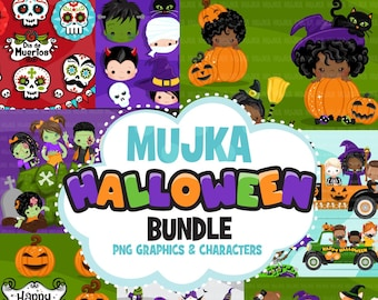 Halloween Bundle, Halloween bundle png, Halloween sublimation designs digital download, Halloween printable download, halloween clipart png