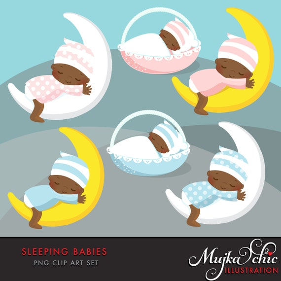 African American Baby Clipart Pink And Blue Baby Graphics Baby
