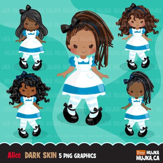 African American Alice In Wonderland