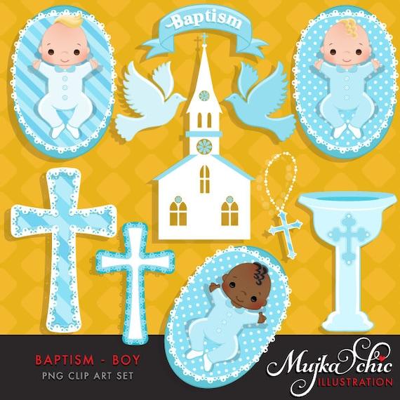 Taufe Baby Boy Clipart Mit Niedlichen Babys Kirche Taube Rosenkranz Und Kreuz Grafiken Grafik Instant Download Taufe Grafiken