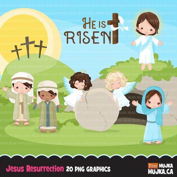 Resurrection cliparts | Jesus drawings, Jesus resurrection, Clip art