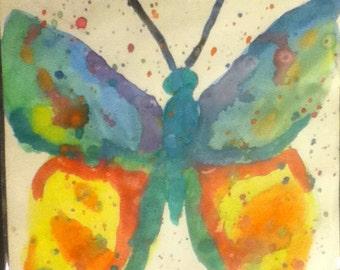 Butterfly watercolor