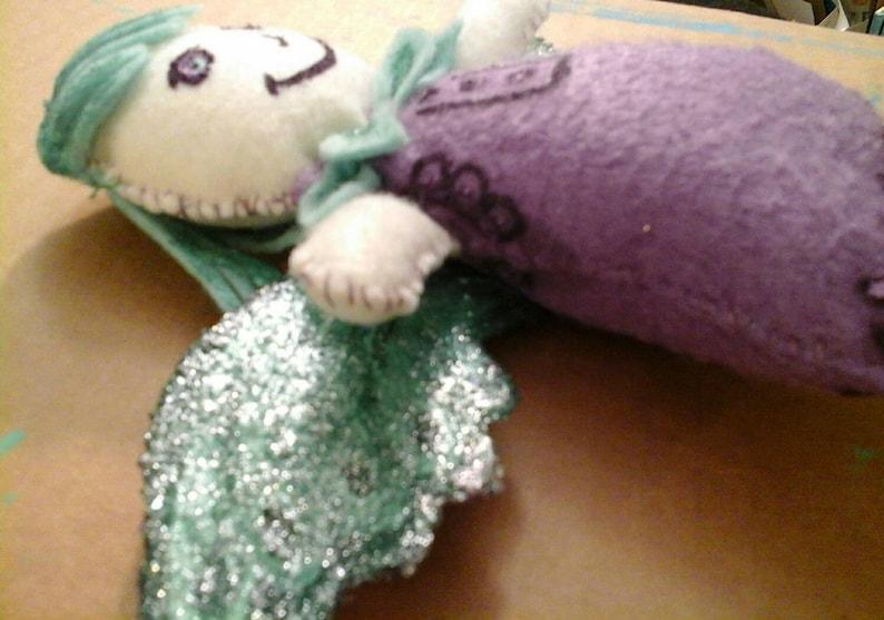 Sugar plum fairy art doll.