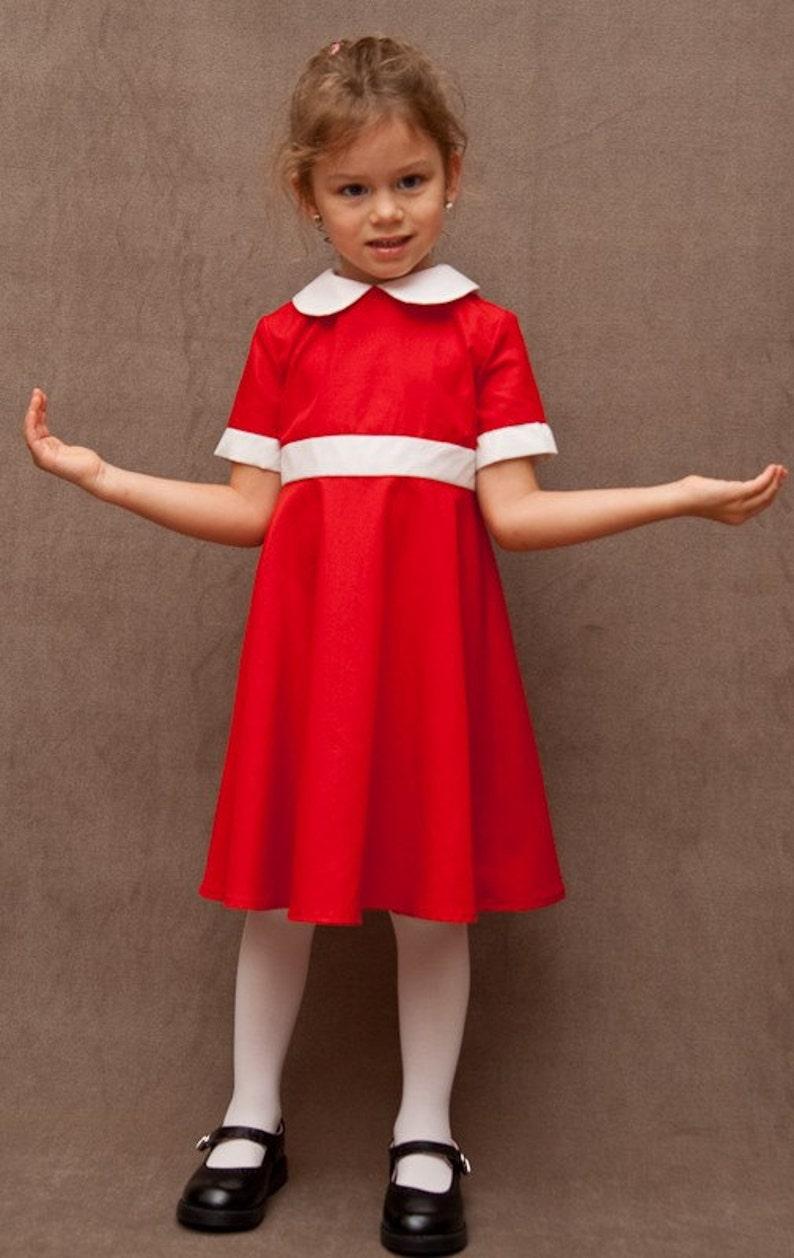 Custom Annie Girls Dress Costume Girls Sizes 3-12