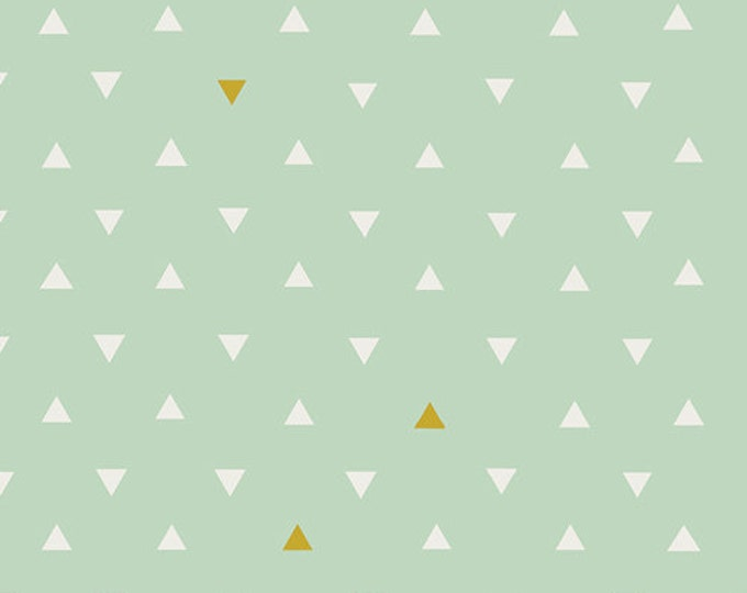 SALE PRICE - Arizona - Triangle Tokens Metallic by April Rhodes for Art Gallery Fabrics - Voile Fabric