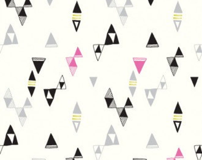 ON SALE - Revelry in Snap by Lisa Congdon for Cloud 9 Fabrics - Organic Cotton Voile Fabric