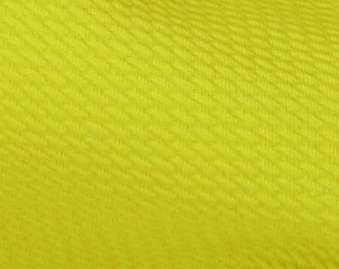 Paola Pique KNIT by Telio - Chartreuse - Fabric By the Yard