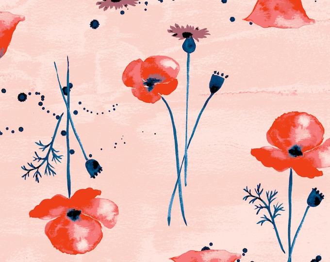 Wanderlust - Wildflower from Monaluna Fabrics - Organic Cotton Lawn Fabric