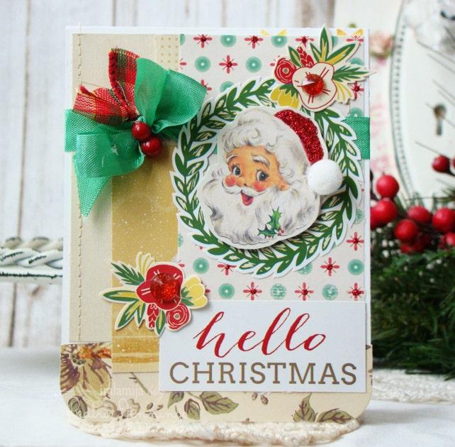 Christmas card christmas greeting card handmade christmas etsy image 0 m4hsunfo