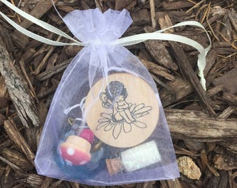 Fairy scavenger treasure hunt party game treasures and clues birthday