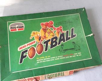 Vintage Mag-Powr Magnetic Football game