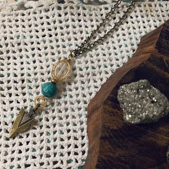 TATANKA brass necklace