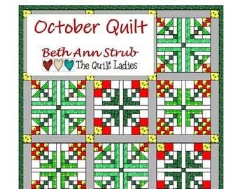 October Quilt Pattern