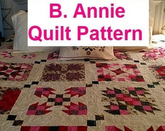 B. Annie - 16 Quilt Pattern Book - PDF Download Quilt Pattern eBook