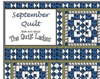 September Quilt Pattern