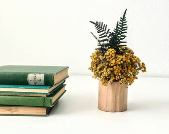 NEW , golden tuft. Dried flower arrangement